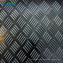 cheap black diamond plate anti slip rubber sheet