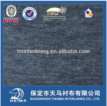 enzyme washed nonwoven double dot interlining