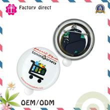 Badge à bouton clignotant / badge à bouton-poussoir