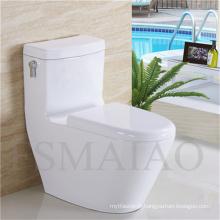 Vente chaude toilettes sanitaires Salle de bains en céramique Siphonic Water Closet (8108)