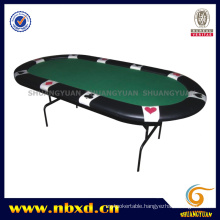 Suited Poker Table with Iron Leg (SY-T07)
