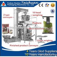 Máquina de embalagem granular de precisão de alta contagem TCLB-420AZ