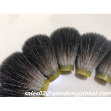 20mm Black Color Synthetic Hair Shaving Knots