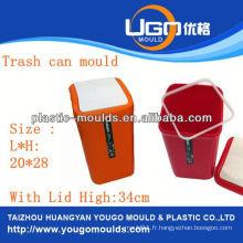 Panier de supermarché en plastique moule d'injection moule de panier d'injection dans Taizhou Zhejiang Chine