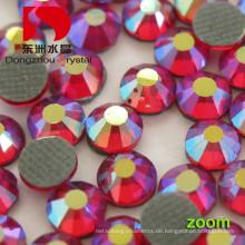 Farbe + Ab Sparkling DMC Hotfix Strasssteine für Bekleidung