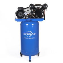 Hot stand up vertical handheld portable mobile 120 liter 3hp electric industrial belt driven air compressor