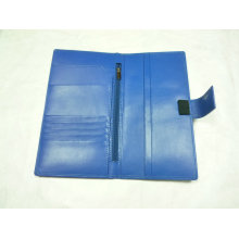 Personalizada carpeta PU, monedero, (PD-005) Titular de pasaporte