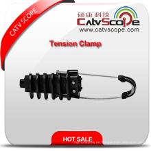 Abrazadera de tensión de cable de fibra óptica Csp-69 ADSS de alta calidad