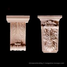 corbeaux de sculpture sur bois décoratifs