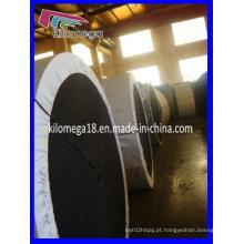 Correia transportadora de nylon para o triturador da pedreira