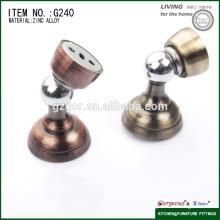 Montaje en el suelo cuña magnética / tapón para puerta de madera / acero