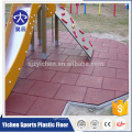 Outdoor kids play area safety rubber flooring mat