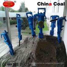 Herramientas neumáticas de minería Mini Hand Air Leg Mobile Rock Drill