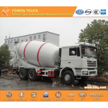mixing concrete truck SHACMAN euro4 12m3