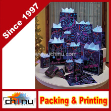 Glow-in-The-Dark Christmas Holiday Gift Bag (210224)