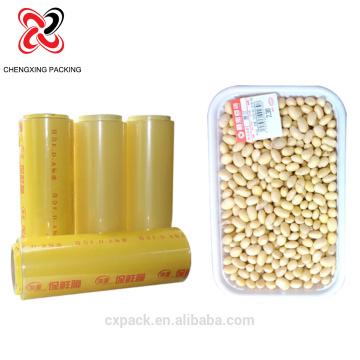 PVC-Frischhaltefolie für Lebensmittelverpackungen