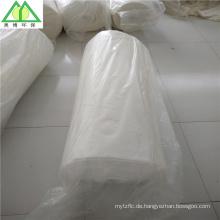 China Hersteller-Hersteller-Füllmaterial-reine Baumwollwatte / Einschlagen in Rolle