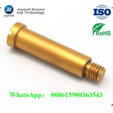 Aluminium-Druckgussschraube mit goldener Farbe