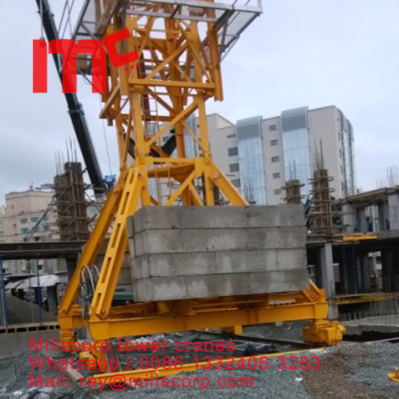 tower crane travlling type