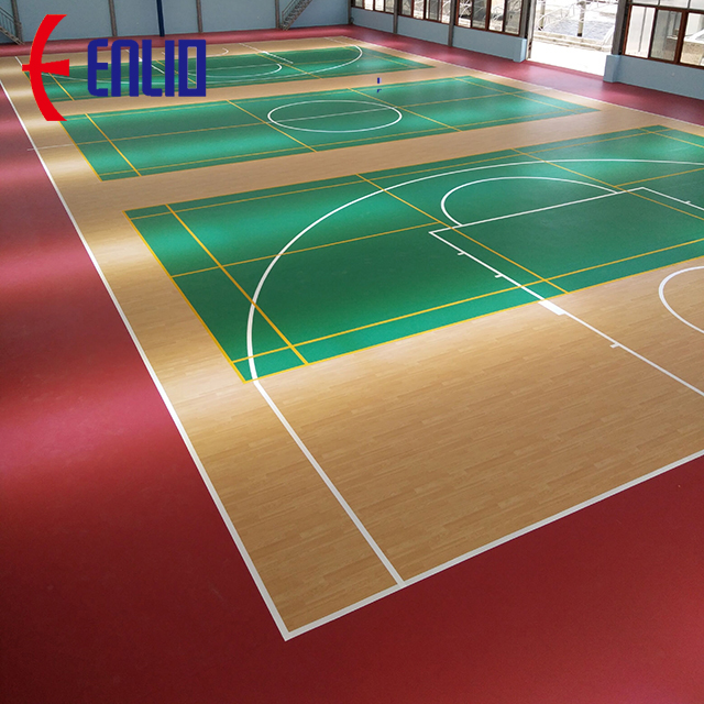 Basketball Pvc Court Flooring