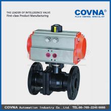 Válvula pneumática de ferro fundido para vapor