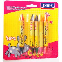 Crayon de cire de couleur vive non-toxique de haute qualité Dh-5601China Fournisseur