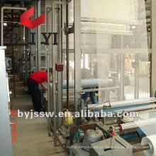 4x4 5x5 10x10 Linha de produção de malha de fibra de vidro