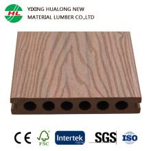 Cubierta de plástico compuesto de madera coextrusión