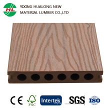 New Products Co-Extrusion Wood Plastic Composite Decking with Higher Quality (HLC01)