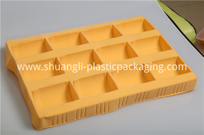 Thermoformed Plastic Flocking Tray