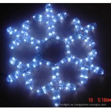 Motif Light copos de nieve fabricados por led light waterproof