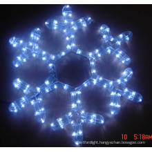 Motif Light  snow flake made by led light waterproof