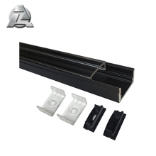 Clear anodized 6063 t5 extrusion alluminium led profiles