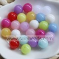 Summer 6mm Acrylic Ball Smooth Imitation Swarovski Beads