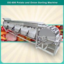 4 níveis de batata automática tomate noz classificação e classificação máquina