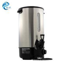 Venda quente chaleira elétrica de aço inoxidável com cor opcional de 8-35 litros, caldeira de urna de água quente para uso comercial