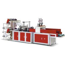 Saco de transporte plástico de alta velocidade automático que faz a máquina