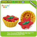 Borrador Fancy Food Eraser Egg Tart Shaped Eraser