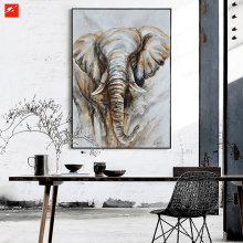 High Quality Modern Abstract Elephant Canvas Print