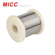 MICC 0.05mm a 10.0mm tipo K NiCr-NiSi fio desencapado termopar