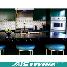Mobiliário de armário de cozinha de melamina de estilo clássico (AIS-K177)