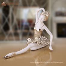 Figurine miniature de l'ange de l'amour de la vente en gros d'usine pour le décor de table de maison