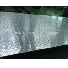 Aluminum building and roofing material sheet