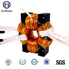 High power transformer for high frequency welding machine