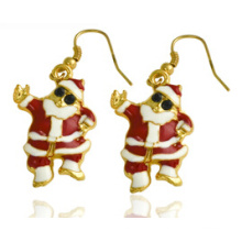 Bijoux de Noël / Boucle d'oreille de Noël / Père Noël (XER13377)