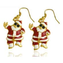 Рождественские украшения/Рождественские серьги/Рождественский отец (XER13377)