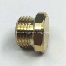 Custom Turning Machining Brass Hex Bolts