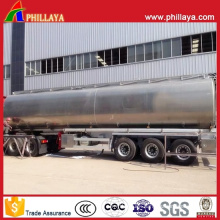 Liquid Transport Tanker Stainless Steel Water Tank Trailer