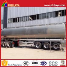 Reboque de tanque de água de aço inoxidável tanque de transporte líquido