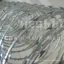 Low Price Bto-28 Blade Galvanized Concertina Razor Barbed Wire